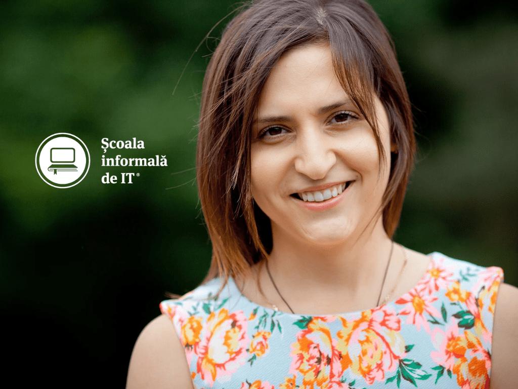 """""""Cea mai mare frică a fost că nu o să reușesc. Dar m-am angajat ca Software Tester la cea mai tare companie de IT din Iași"""". De vorbă cu Elena Cantemir, absolventă Școala informală de IT"""