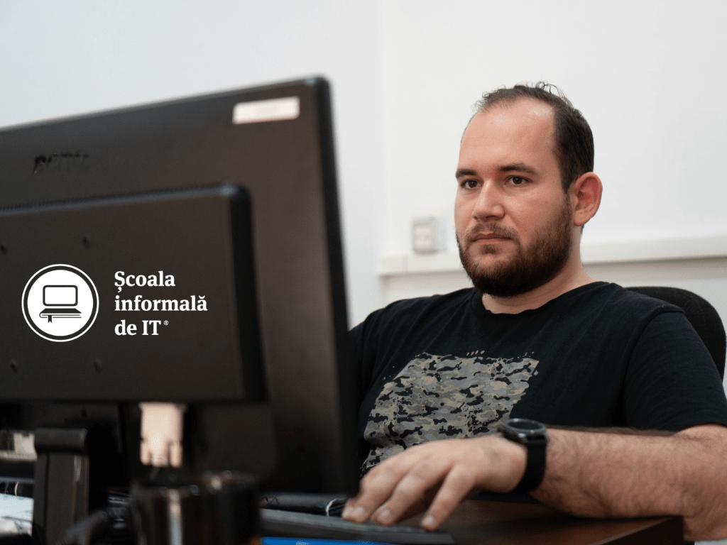 """Denis Gosa, absolvent C++ : """"Nu a mai fost nevoie să trec printr-un test tehnic ca să mă angajez"""""""