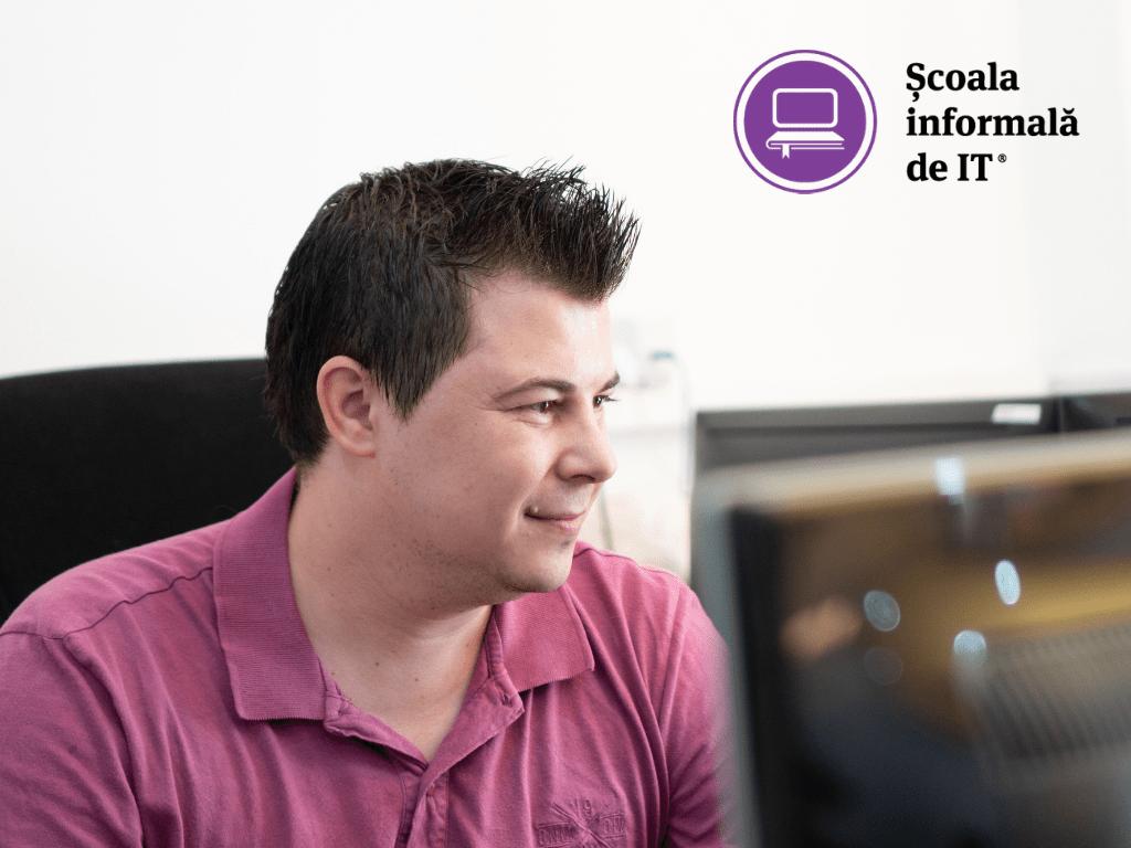 """Iulian Biban, absolvent Software Testing: """"În IT se caută oameni cărora nu le e teamă de schimbare"""""""